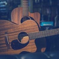 Imagen de guitarras acústicas muy bonitas