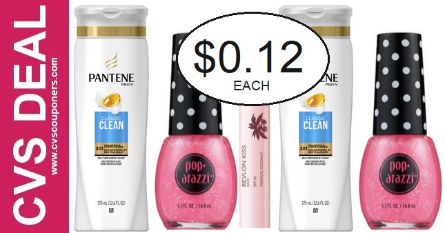 Cheap Pantene & Pop-arazzi CVS Deals