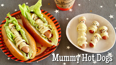 How to Make Halloween Hot Dogs (Sausage Mummies) Recipe