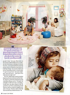 Little Fashionistas Closet Jessica Alba S Nursery For Haven