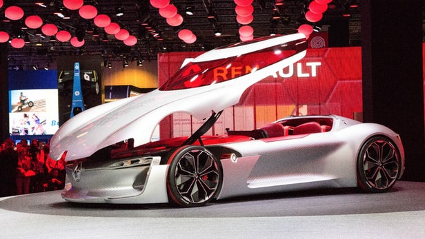 Renault Trezor di Paris Motor Show