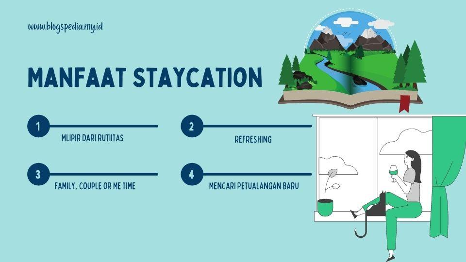 keuntungan staycation