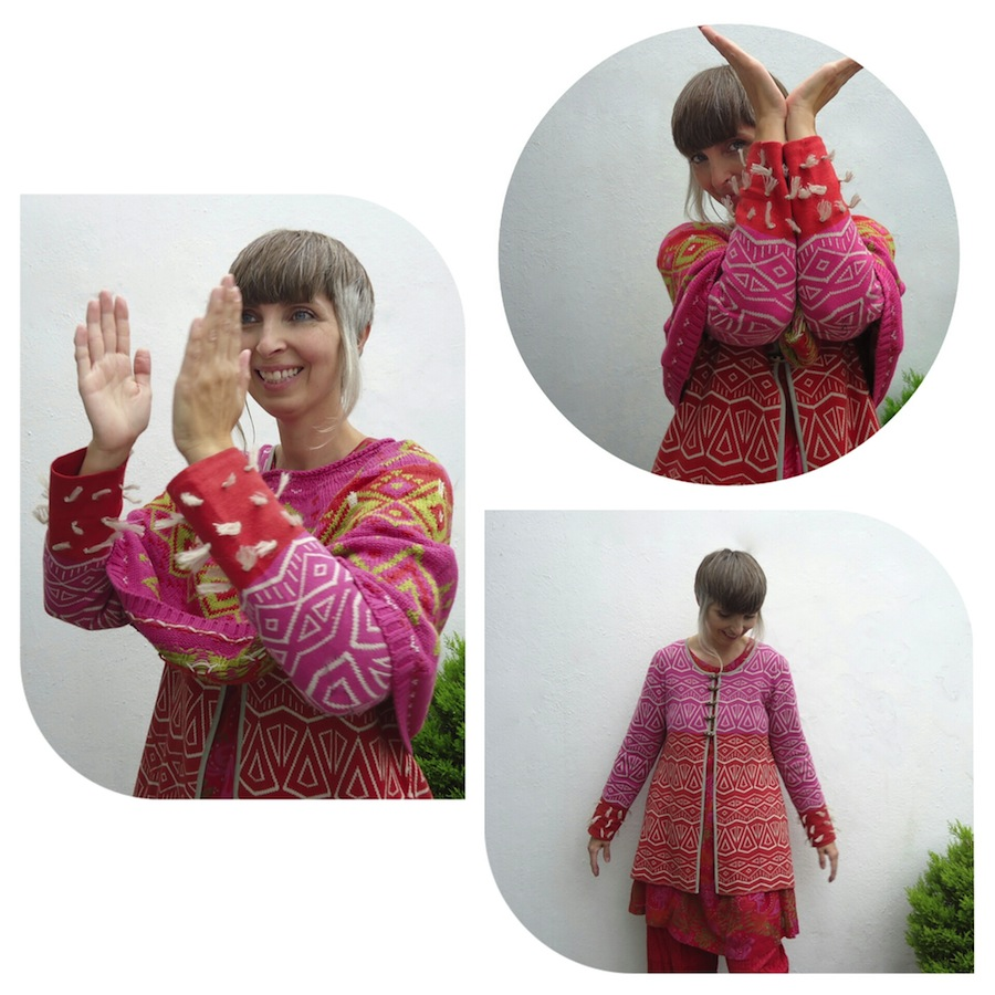 Arktis cardigan from Gudrun Sjödén's Winter 2014 range