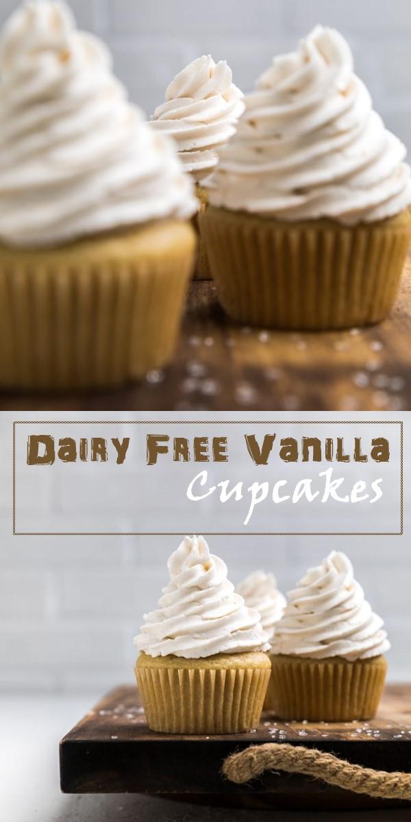 Dairy Free Vanilla Cupcakes #Cupcakesrecipes