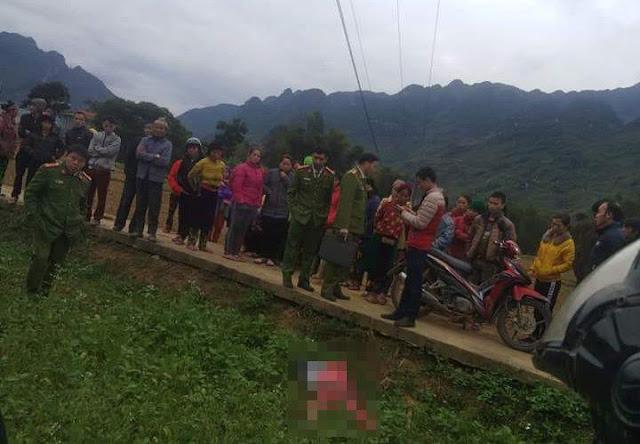 Phát hiện thi thể người phụ nữ ở giữa cánh đồng