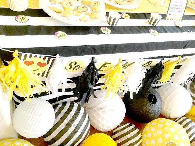 Emoji Themed Birthday Party Decorations via Pretty My Party