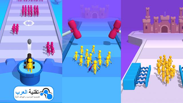 ألعب الأن وأجمع أكبر حشد مع Join Clash 3D