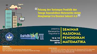 Seminar Nasional Pendidikan Matematika Tahun 2019