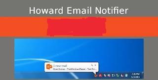 تحميل أداة, للتنبيه, بالرسائل, الواردة, للبريد, الالكترونى, وحسابات, التواصل, Howard ,Email ,Notifier