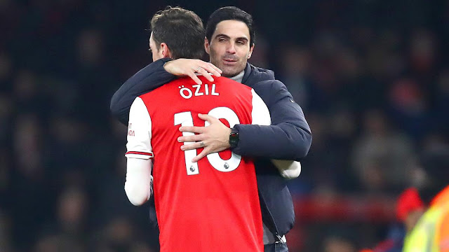 I think Arteta is the right man - Mesut Ozil, Mesut Ozil backs Mikel Arteta