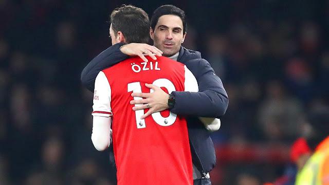 I think Arteta is the right man - Mesut Ozil, Mesut Ozil backs Mikel Arteta