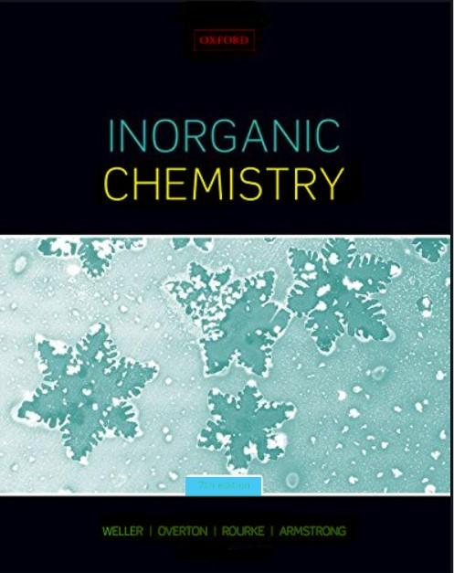 Inorganic Chemistry 7th Edition Weller,  Overton, Jonathan ,Armstrong in pdf