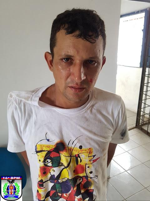 Homem é preso após espancar a própria companheira, em Magalhães de Almeida