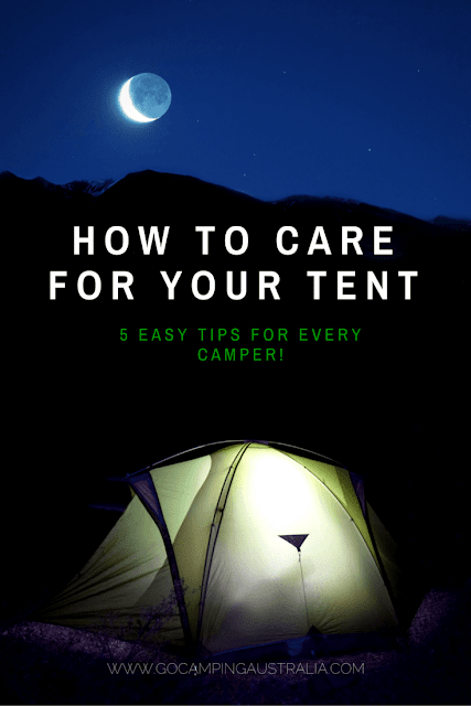 How to care for your tent -5 easy tips for every camper, new and old!