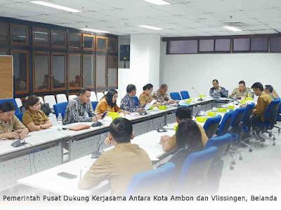 Pemerintah Pusat Dukung Kerjasama Antara Kota Ambon dan Vlissingen, Belanda