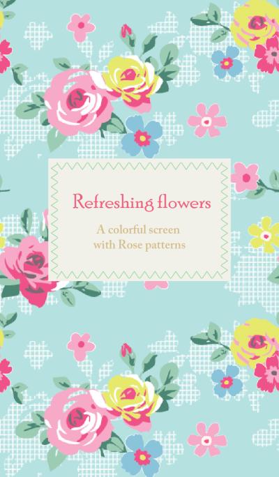 Refreshing flowers - for World
