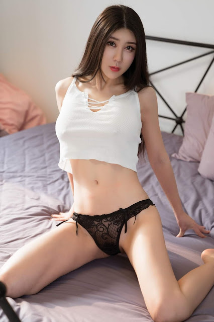 Hot and sexy braless photos of beautiful busty asian hottie chick Chinese big boobs model Xiao Xiao Sal photo highlights on Pinays Finest Sexy Nude Photo Collection site.