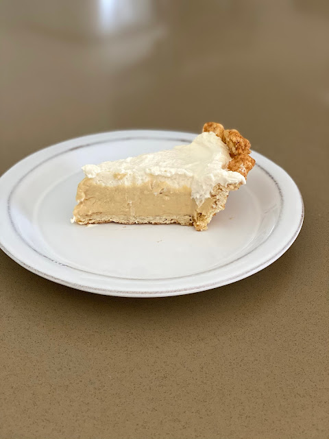 Recipe for Butterscotch Cream Pie by freshfromthe.com