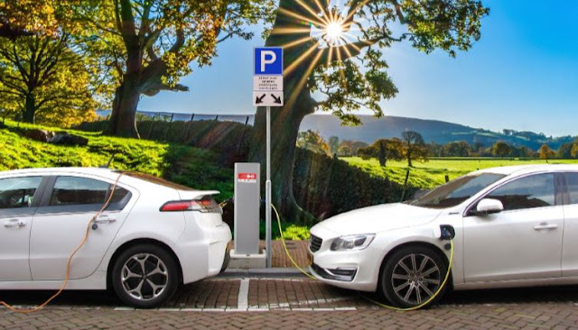 ev charging station costs vs gas pump expenses electric vehicle charge