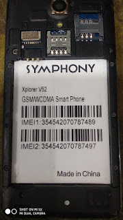 Symphony V52 SPD7731 5.1  flash file 100% tested without password