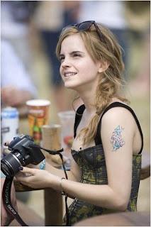 """Emma Watson, """"Tra..."""