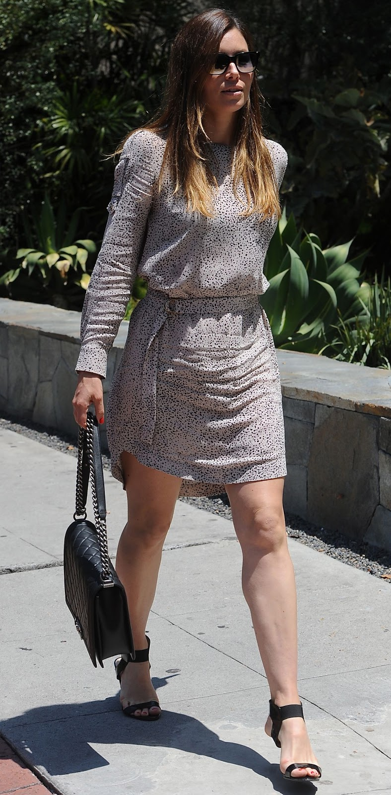Photos of Jessica Biel out and about in West Hollywood