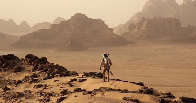 Hombre en Marte