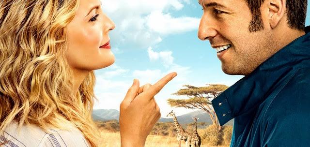 Adam Sandler şi Drew Barrymore în primul trailer pentru comedia Blended