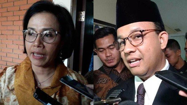 Anies Baswedan Persilakan Sri Mulyani Cek Anggaran: Kalau Masih Kurang Pekerjaan, Saya Tambahin