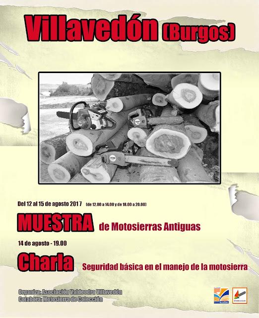 MUESTRA DE MOTOSIERRAS ANTIGUAS