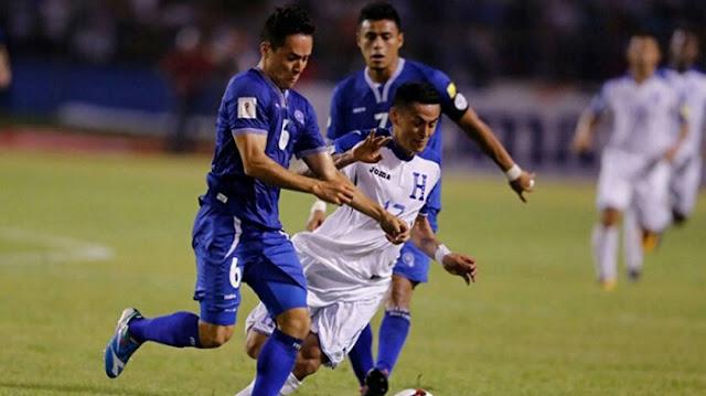 Honduras vs El Salvador en vivo