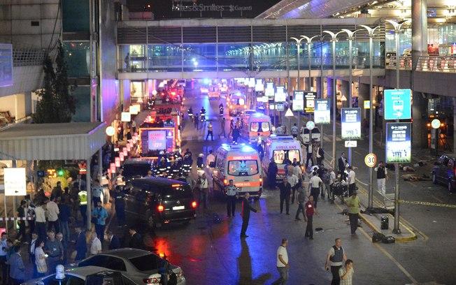 Sobe para 28 o número de mortos após atentado em aeroporto em Istambul