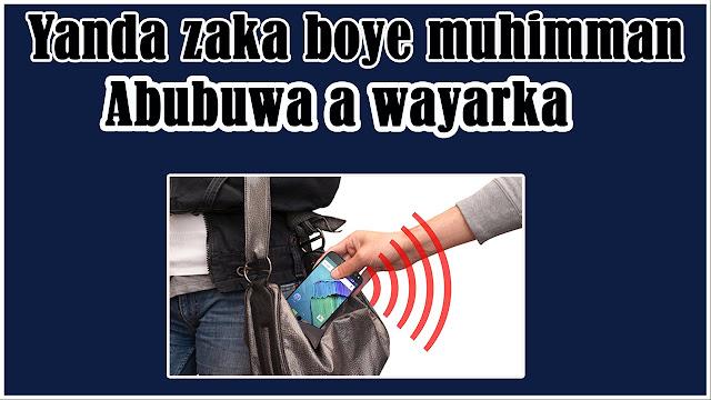Yanda zaka boye muhimman abu a wayanka