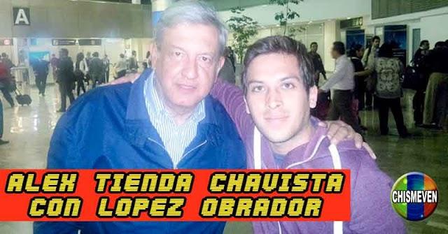 SIN SOPRESA | Aparece foto de Alex Tienda apoyando al ebrio López Obrador en el 2018