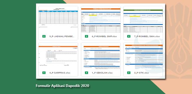 Formulir Aplikasi Dapodik 2020