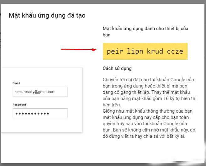 Hướng dẫn tạo mật khẩu ứng dụng cho Gmail  - 6