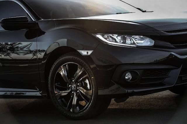 Novo Honda Civic 2017 Sport 2.0 - sistema de iluminação diurna em LED
