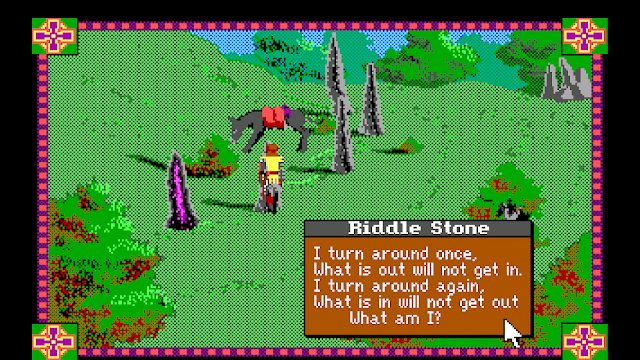 Screenshot of King Arthur and the Riddle Stones in Conquests of Camelot