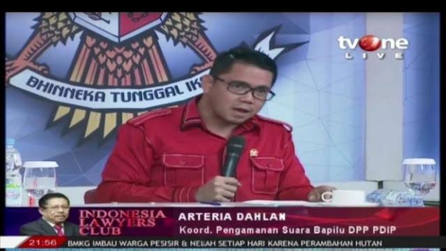 Arteria Dahlan: Apakah Kasus Wahyu Setiawan untuk Diskreditkan PDIP?