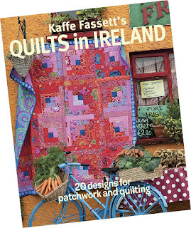 Kaffe Fassett's new book Quilts in Ireland
