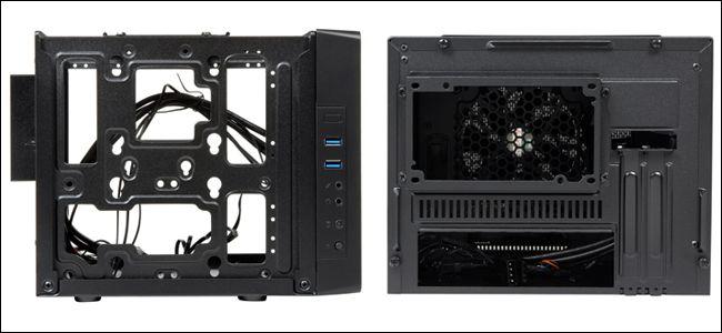 Case per  schede grafiche corte, compatibile con i modelli a doppio slot