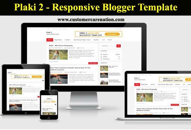 Palki 2 - Responsive Blogger template