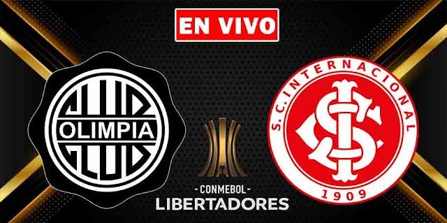 EN VIVO   Olimpia vs. Internacional, jornada 5 del Grupo B de la Copa Libertadores 2021 ¿Dónde ver el partido online gratis en internet?