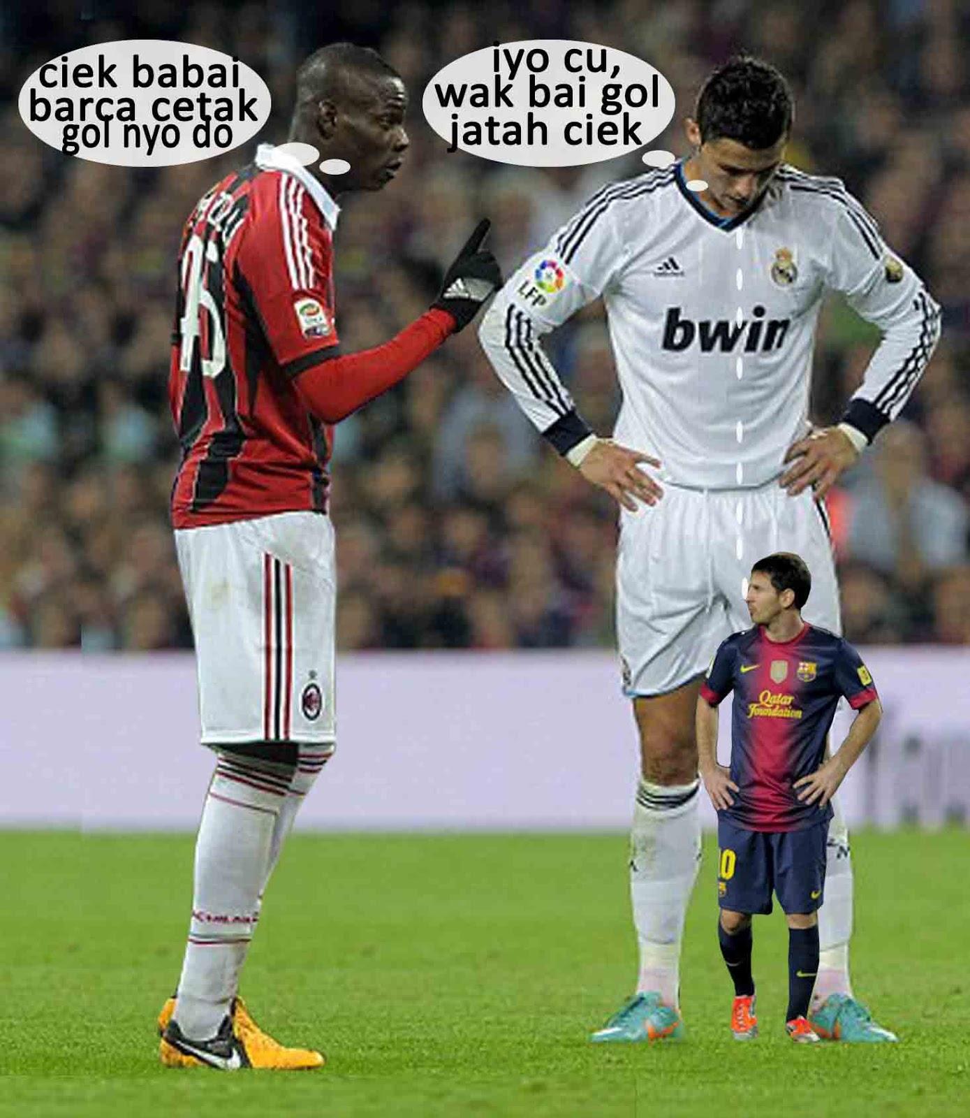 Gambar Bola Lucu  Pertanyaan lucu Balotelli terhadap
