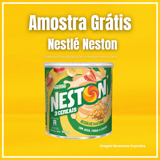 Amostra Grátis Produtos Neston