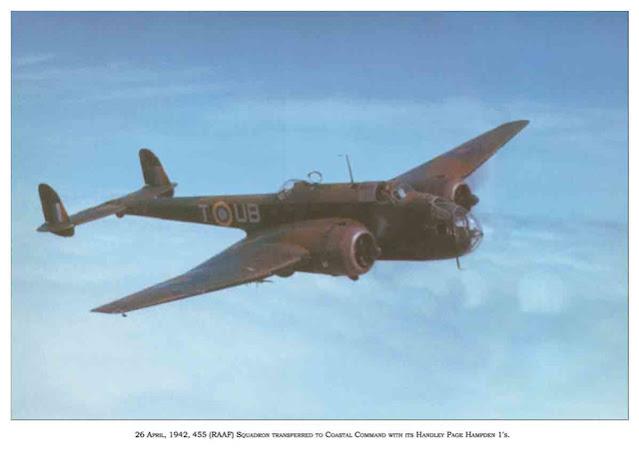Handley Page Hampden 26 April 1942 worldwartwo.filminspector.com