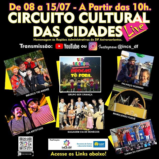 Projeto de LIVES apresenta shows voltados para o público infantil