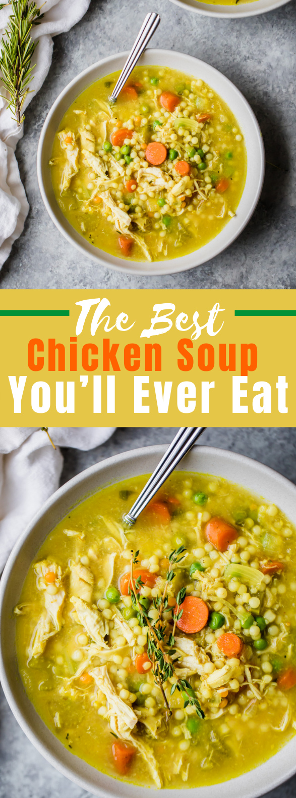 The Best Chicken Soup You'll Ever Eat #healthyfood #antiinflammatory