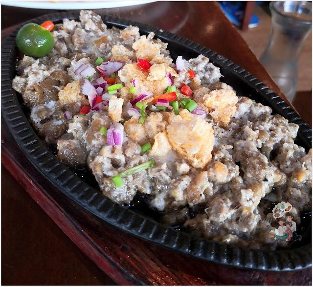 Sisig Mang Rudy's Tuna Grill & Papaitan at Circuit Makati