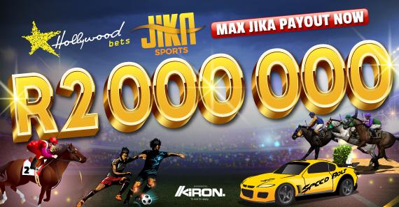 R2 000 000 max payout Jika